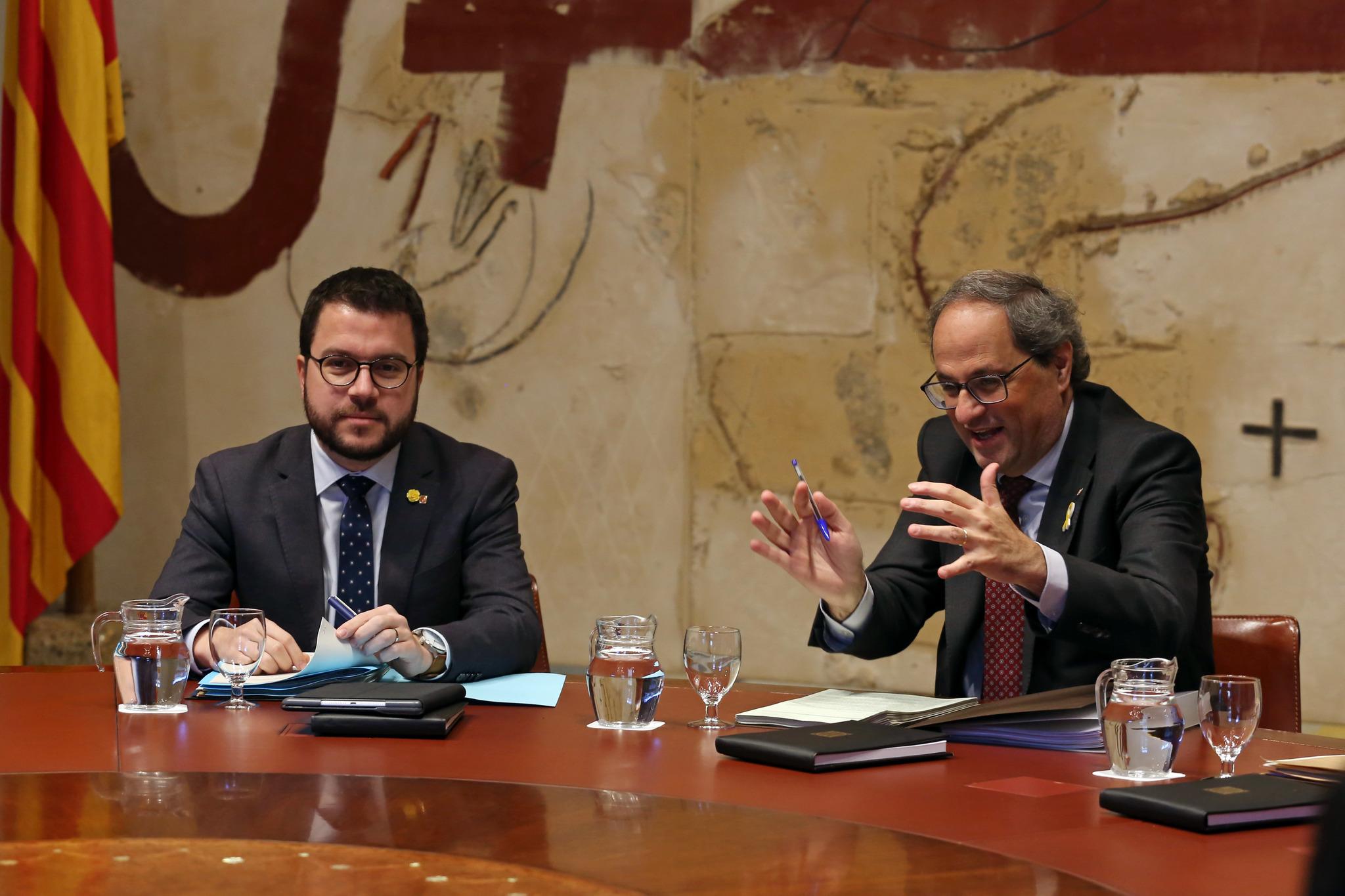 El número dos de la Generalitat y candidato de ERC en las próximas...