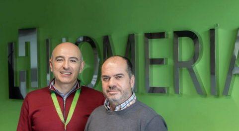 Fernando Sánchez y Juan Carlos Preciado, fundadores de Homeria.