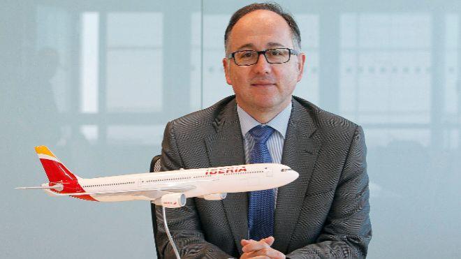 Luis Gallego, actual presidente de Iberia, que pasará a ser consejero...