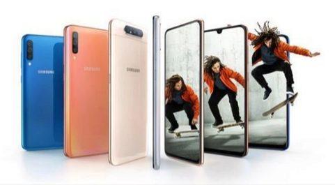 Familia Samsung Galaxy A.