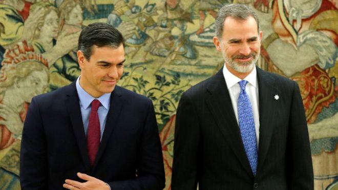 España estrena primer gobierno de coalición de izquierdas