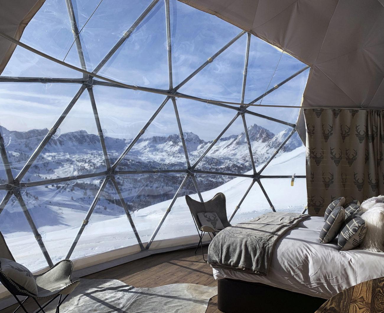 No hace falta ir a Aspen o Gstaad... Hay cumbres más cercanas con...