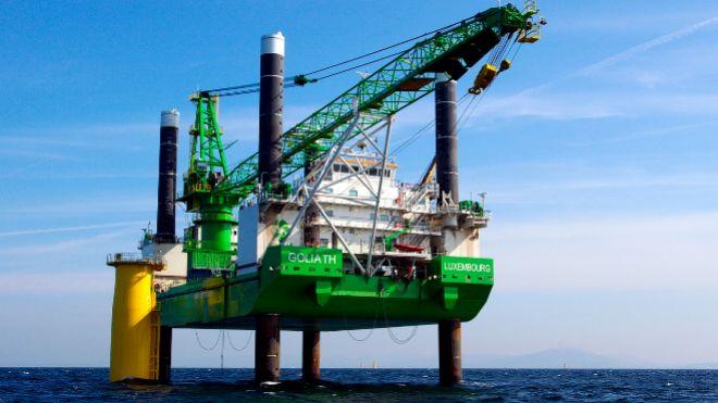 El proyecto del parque eólico marino de Saint-Brieuc se inició en...