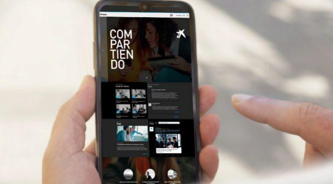 Virtaula es la plataforma de formación online de CaixaBank, que...