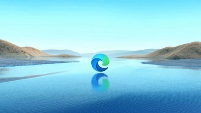 Logo del nuevo navegador Microsoft Edge.