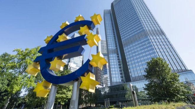 En la imagen, sede del BCE en Fráncfort.