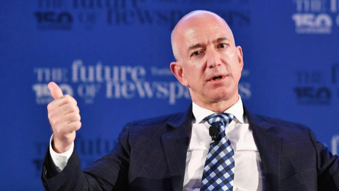 Jeff Bexos, fundador de Amazon.