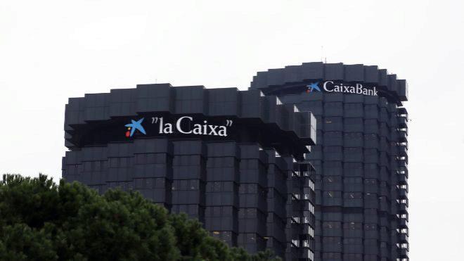 Sede operativa de Caixabank en Barcelona.