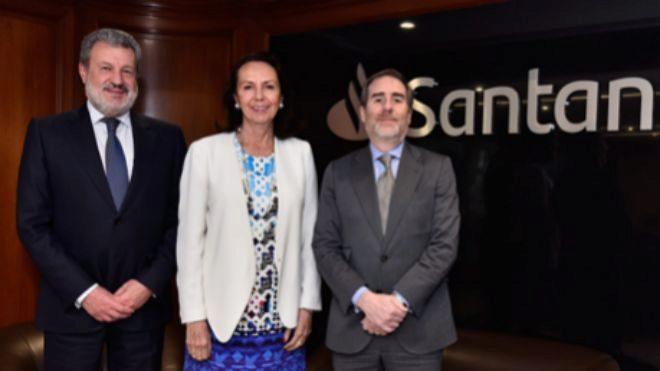 Laura Díez Barroso Azcárraga, nueva presidenta de Banco Santander...