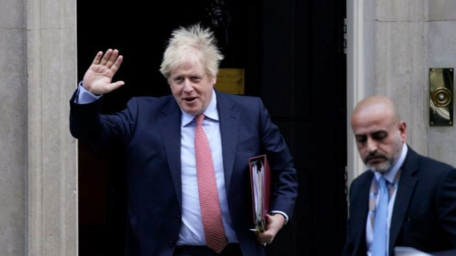 Boris Johnson es el primer ministro de Reino Unido.