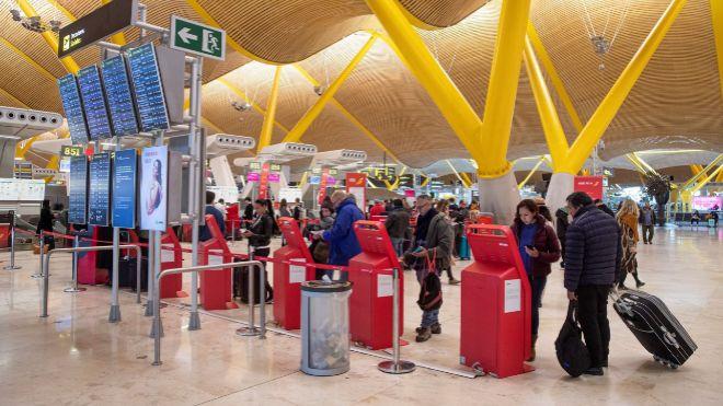 Terminal 4 del Aeropuerto de Barajas.