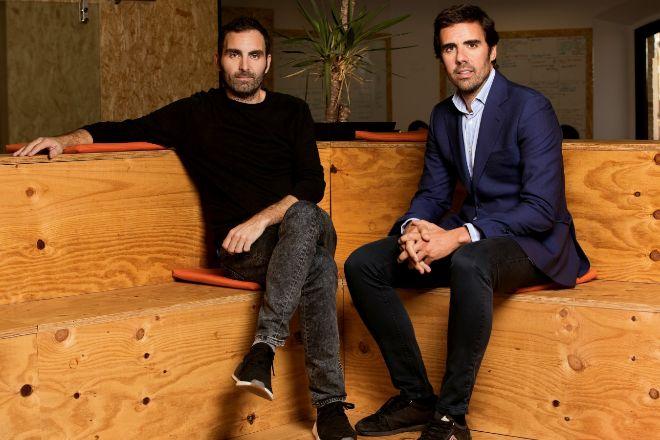 Christian Rodríguez (izqda) y Guillermo Gaspart (derecha), fundadores...