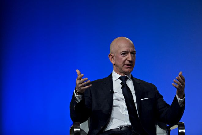 El CEO y fundador de Amazon Jeff Bezos.