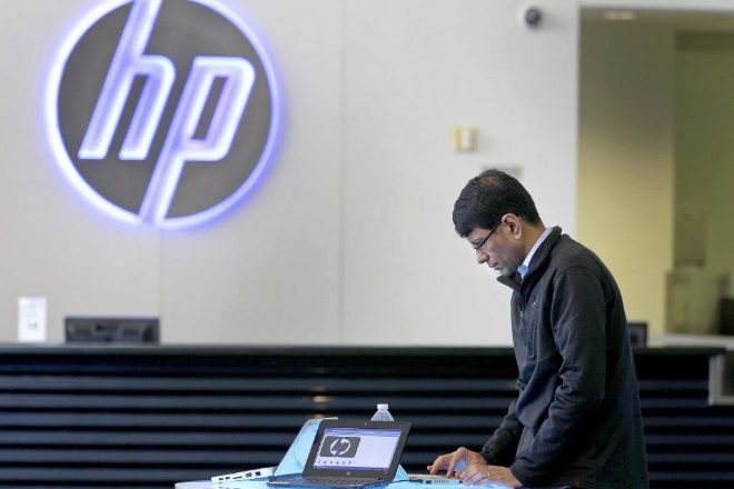 Centro de HP en Palo Alto.