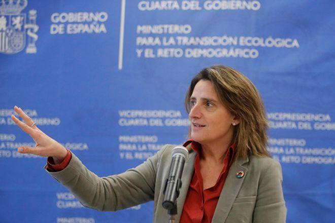 La vicepresidenta cuarta del Gobierno de España y ministra para la...