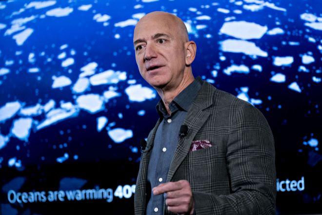 El fundador y presidente de Amazon, Jeff Bezos.