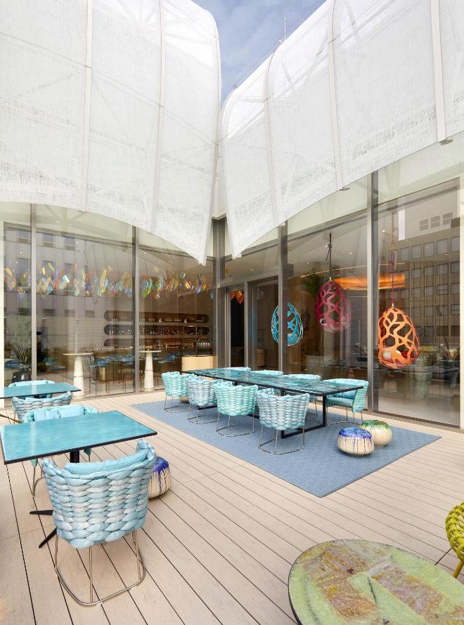 Terraza del Le Café V.