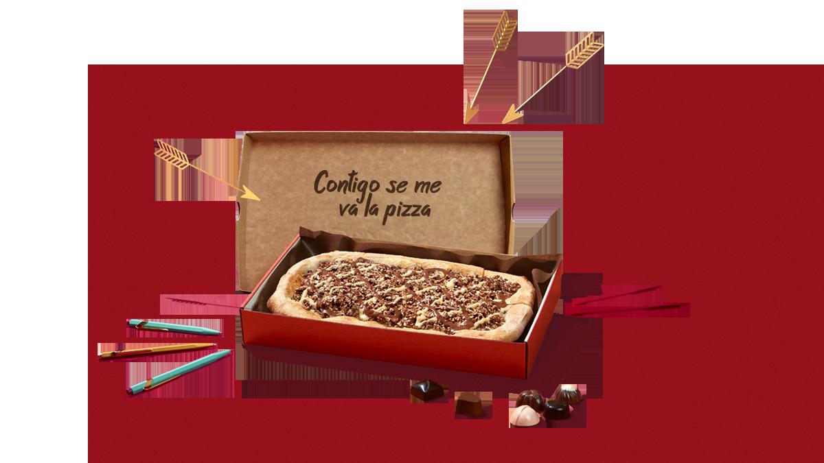 Telepizza y  Nestlé Caja Roja quieren recuperar la tradición de las...
