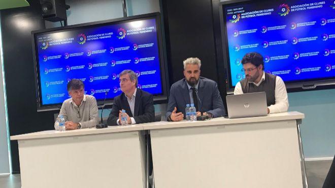 Fútbol femenino: la ACFF ratifica el convenio colectivo y el compromiso de los clubes con Mediapro