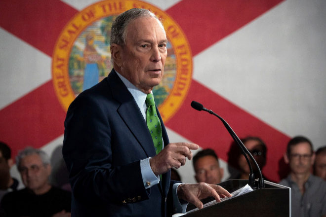 El sorprendente ascenso de Michael Bloomberg | Periodico