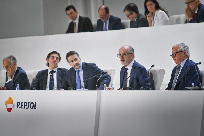 Junta general de accionistas de Repsol de 2019.