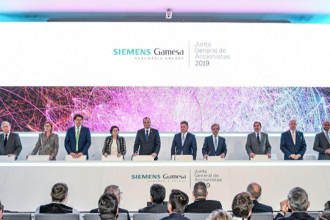 Junta de accionistas de 2019 de Siemens Gamesa.