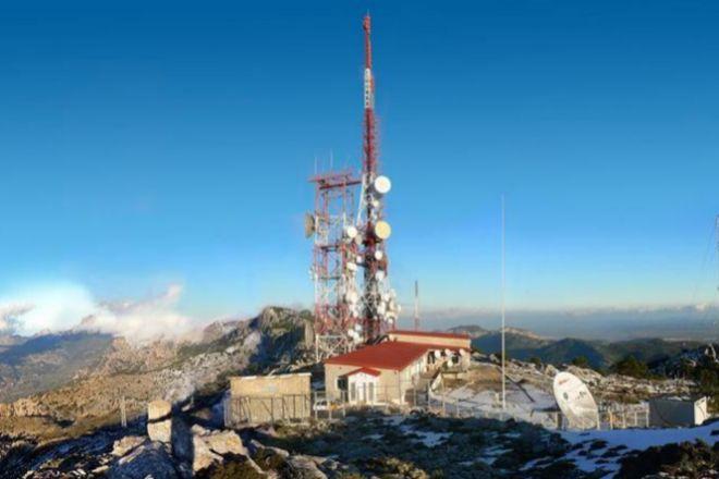 Estación de telecomunicaciones de Cellnex.