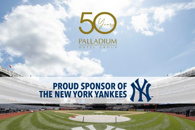 Palladium, patrocinador de los New York Yankees