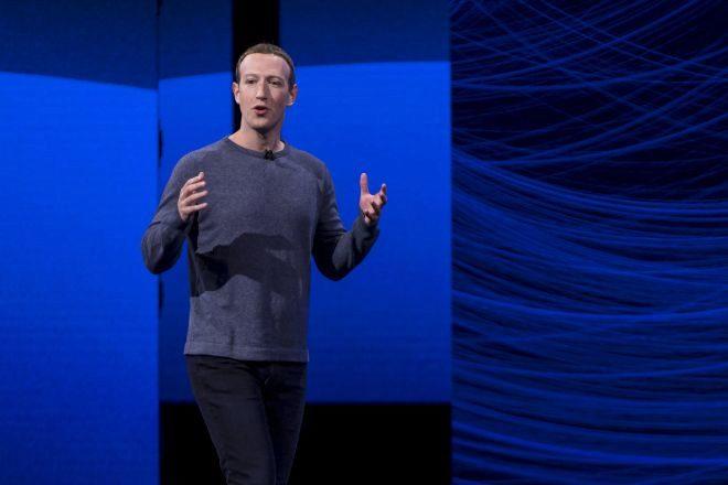 Mark Zuckerberg, consejero delegado de Facebook, durante el F8 del...