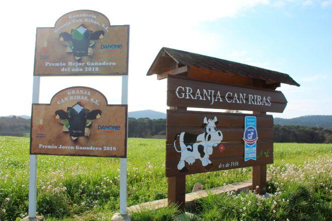 La granja Can Ribas de Maçanet de la Selva ha recibido el premio al...