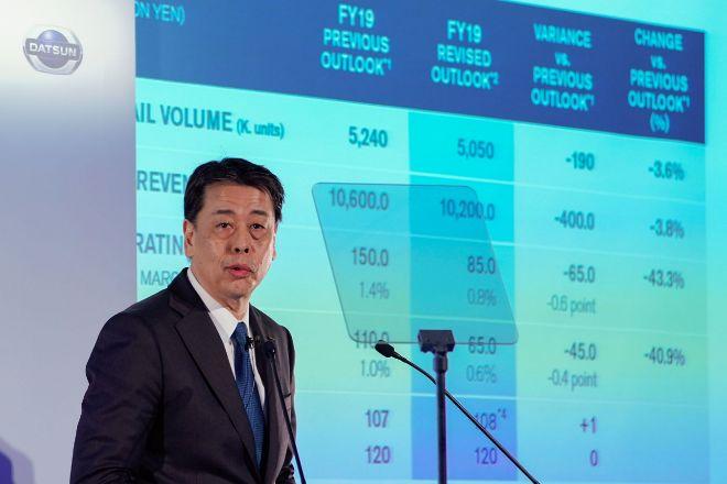 El nuevo consejero de Nissan Motor, Makoto Uchida, está graduado en Teología.