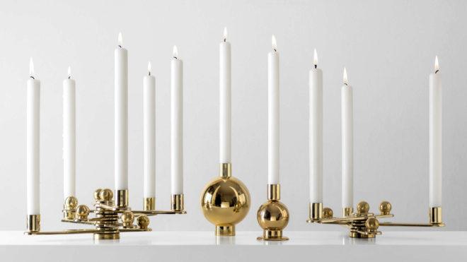 REmix Vol.1. A partir de los herrajes de puertas diseñados hace años por Cristian Cirici, Curro Claret creó candelabros.