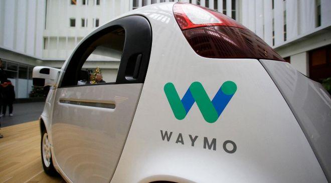 Vehículo autónomo de Waymo, filial de Alphabet.