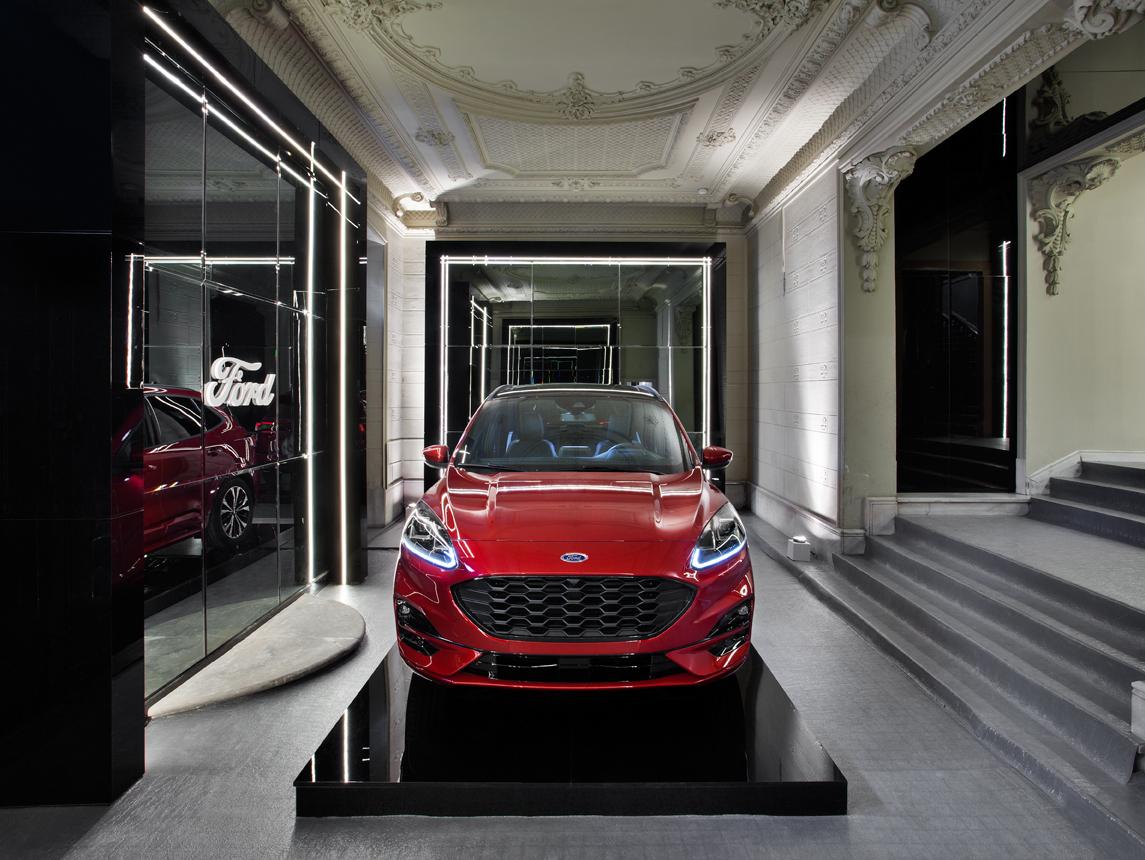 En consonancia con la etiqueta sostenible de Casa Decor 2020, Ford,...