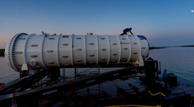 El centro de datos del Proyecto Natick en las Islas del Norte está...