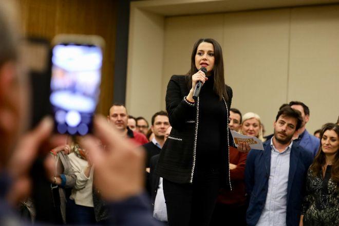 """[Cs] Inés Arrimadas: """"Hemos propuesto eliminar el impuesto a las herencias, espero que los independentistas sepan hablar de algo que no sea de su República imaginaria"""" 15836989453981"""