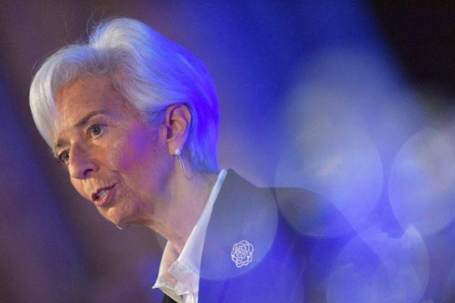 Christine Lagarde es la presidenta del BCE.