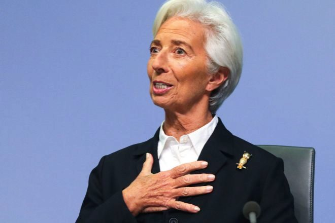 Christine Lagarde es la presidenta del Banco Central Europeo (BCE).