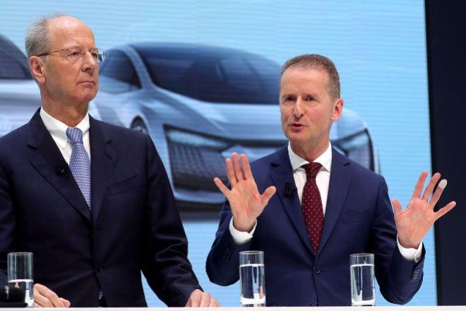 El consejero delegado de Volkswagen, Herbert Diess.