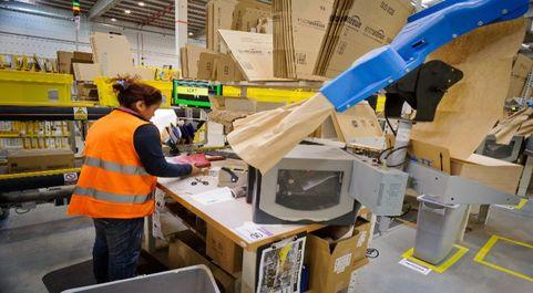 Centro logístico de Amazon en San Fernando de Henares (Madrid):