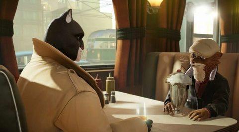 Fotograma del videojuego 'Blacksad: Under the Skin',...
