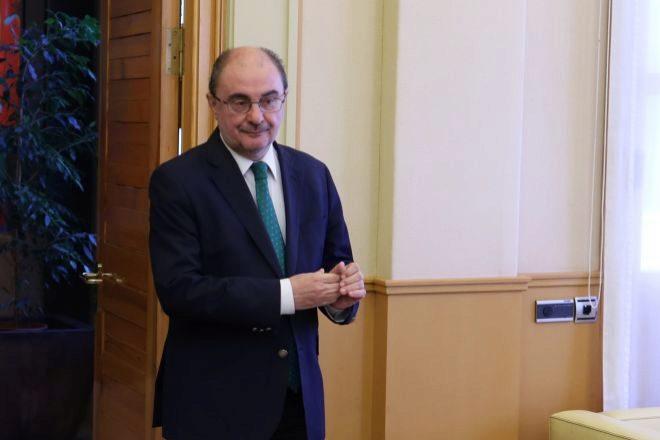 El presidente del Gobierno de Aragón, Francisco Lambán.