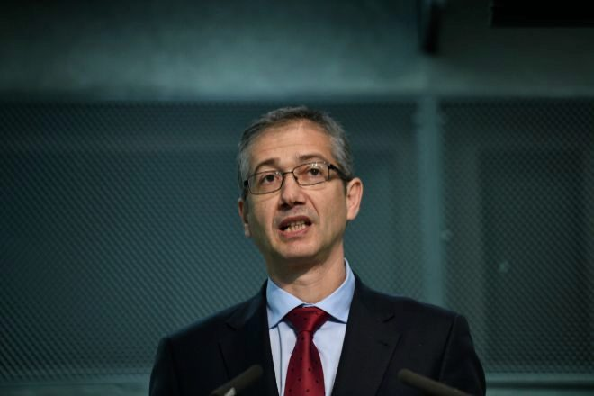 El gobernador del Banco de España Pablo Hernández de Cos. Óscar Cañas Europa Press