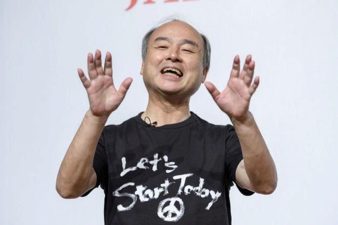 Masayoshi Son, es el presidente y el consejero delegado del...