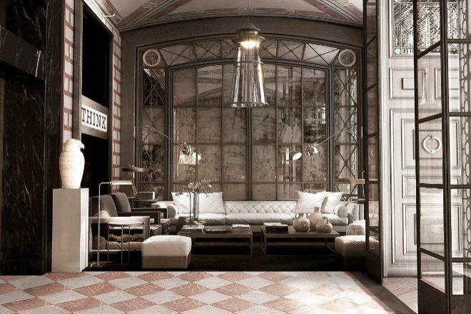 Los interiores del hotel Cotton House de Barcelona, en una imagen de...