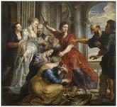 Aquiles descubierto por ulises y diómedes. Pedro Pablo Rubens. Una de...