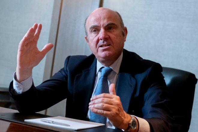 Luis de Guindos es el vicepresidente del BCE.