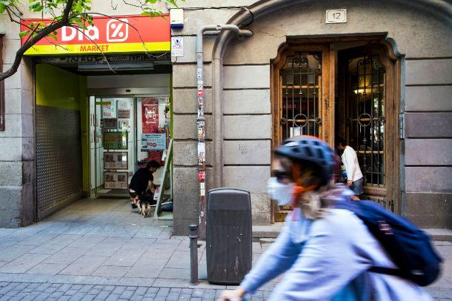 Supermercado de Dia en Madrid.