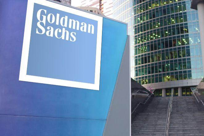 Logo de Goldman Sachs.