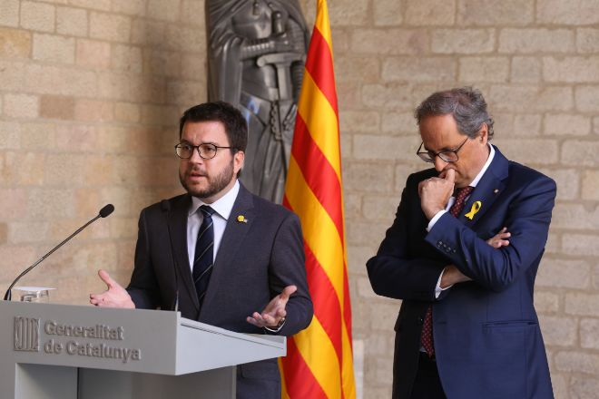 El número dos de la Generalitat y responsable de las finanzas...